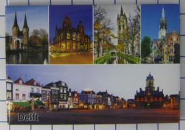 10 stuks koelkastmagneet Delft N_ZH5.014