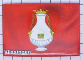 10 stuks koelkastmagneet Vlissingen Zeeland N_ZE5.510