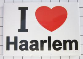 10 stuks koelkastmagneet I ♥ Haarlem N_NH5.001