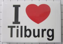 10 stuks koelkastmagneet I love Tilburg  N_NB2.001