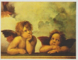pak 50 stuks Kwaliteitsposters 35 x 45 cm  Engeltjes - Raphael