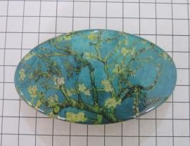 Haarspeld ovaal HAO 412 amandelbloesem Vincent van Gogh