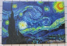 10 stuks koelkastmagneet Van Gogh MAC:20.407