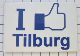 10 stuks koelkastmagneet I like Tilburg N_NB2.002