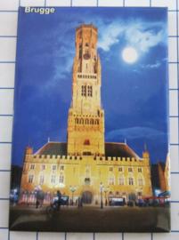 koelkastmagneten Brugge N_BB135