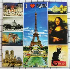 10 Magnettes Mega Paris MEGA_V_PD.004
