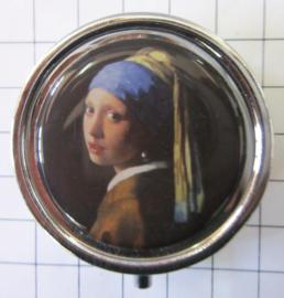 PIL 303 pillendoosje meisje met parel Vermeer