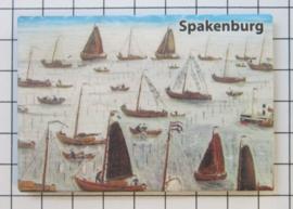 10 stuks koelkastmagneet  Spakenburg  N_UT3.003