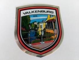 sticker  wapenschild Valkenburg