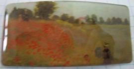 Haarspeld rechthoek klaprozenveld Claude Monet HAR108