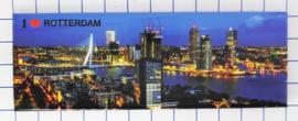 10 stuks koelkastmagneet Rotterdam MAC:P_ZH1.0007
