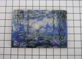 10 stuks koelkastmagneet Claude Monet MAC:20.451