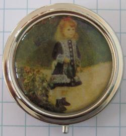 PIL 131 pillendoosje meisje met gieter Renoir