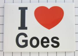 10 stuks koelkastmagneet I love Goes N_ZE4.001