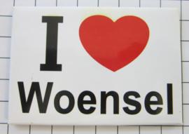 10 stuks koelkastmagneet  I love Woensel N_NB1.006