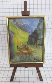 SCH008 schildersezel 16 cm hoog Vincent van Gogh