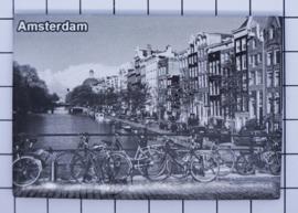10 stuks koelkastmagneet Amsterdam  MAC:19.003