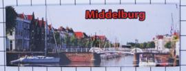 10 stuks koelkastmagneet Middelburg Zeeland P_ZE2.0009