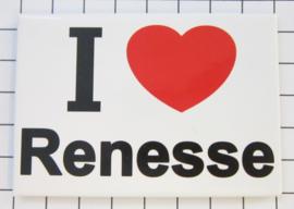 10 stuks koelkastmagneet Zeeland I ♥ Renesse N_ZE5.001
