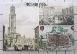 10 stuks koelkastmagneet  Utrecht N_UT1.026