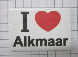 10 stuks koelkastmagneet I ♥ Alkmaar N_NH7.001