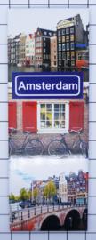 10 stuks koelkastmagneten Amsterdam MAC:21.042