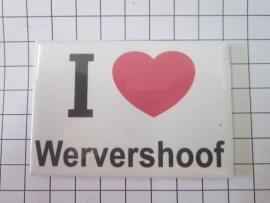 02 magneet i love Wervershoof