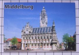 10 stuks koelkastmagneet Middelburg Zeeland N_ZE2.005