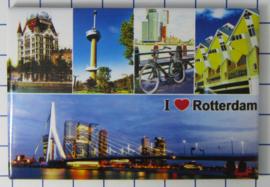 10 stuks koelkastmagneet Rotterdam N_ZH1.032