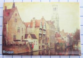 koelkastmagneten Brugge N_BB140