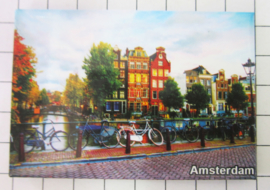 10 stuks koelkastmagneet Amsterdam  MAC:19.013