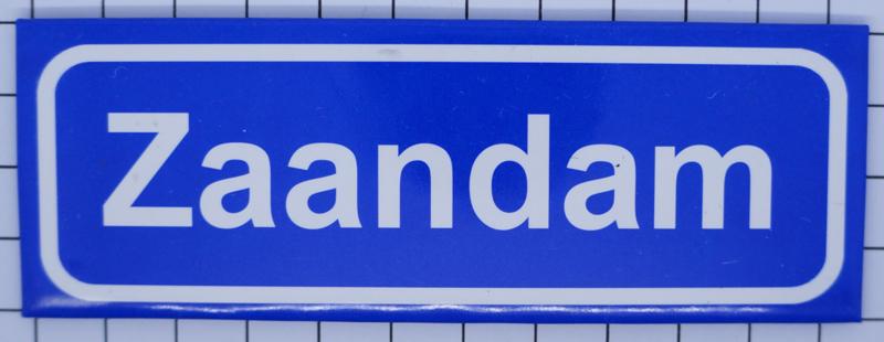 10 stuks koelkastmagneet plaatsnaambord Zaandam P_NH9.5001 ...