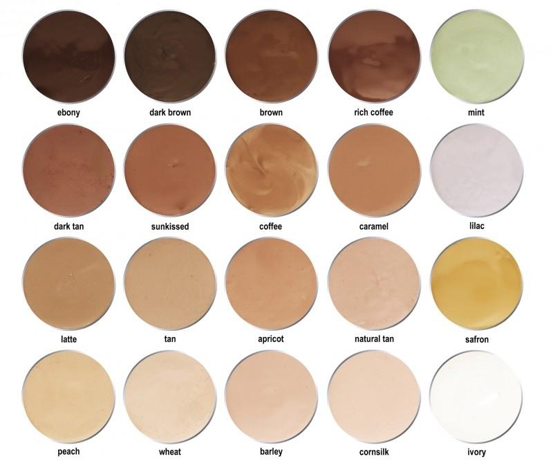Cover cream colors