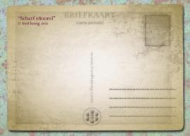 """""""Scharf e800ml"""" Postcard"""