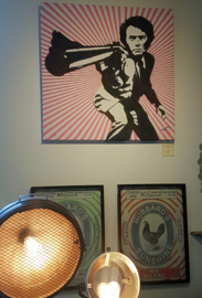 Dirty Harry op canvas