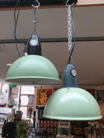 Vintage lamp groen