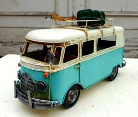 Model Bus blauw