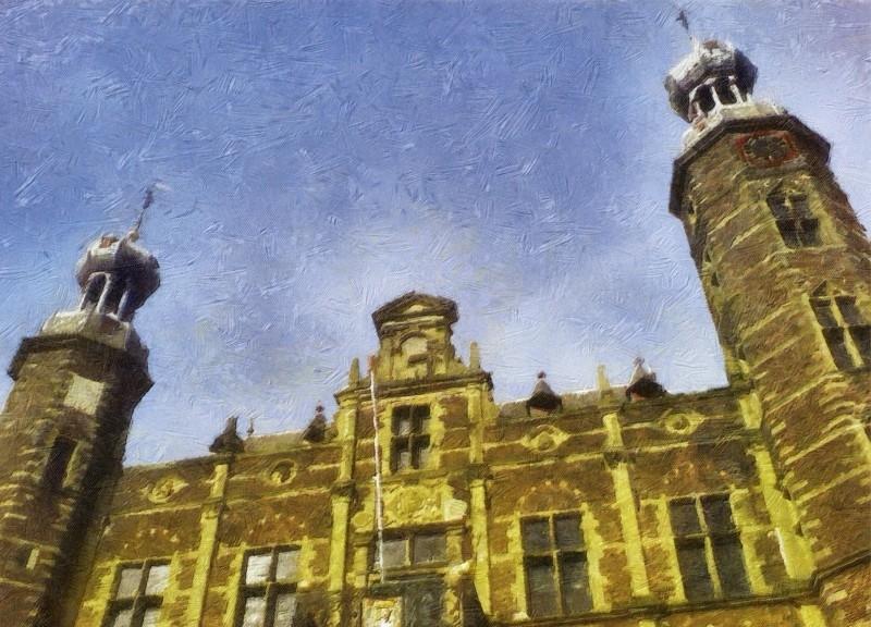 """Stadhuis Venlo"" Postcard"