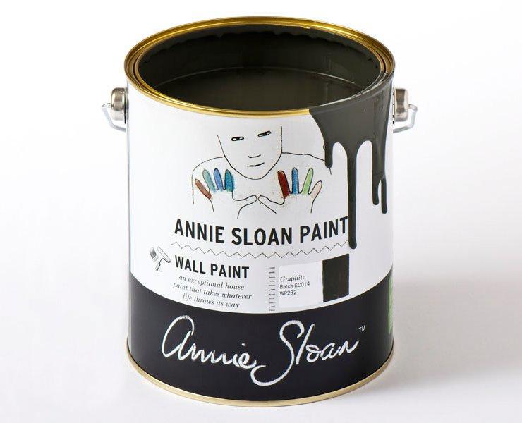 Annie Sloan Wall Paint - Graphite 2,5 liter