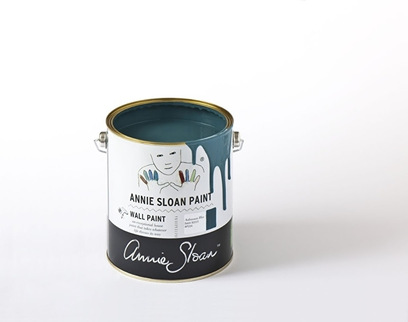 Annie Sloan Wall Paint - Aubusson Blue 2,5 liter