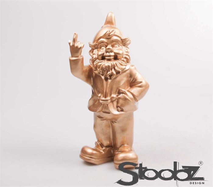 STOOBZ F*ck you tuinkabouter Goud