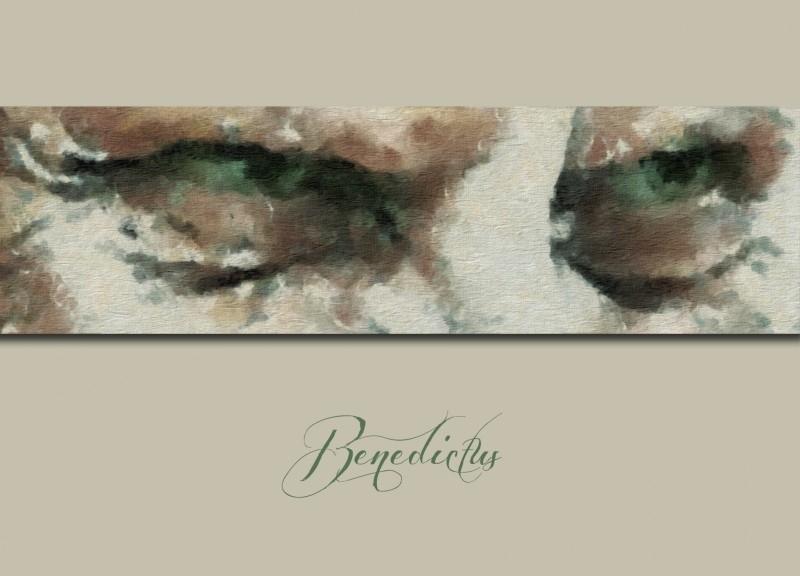 """Benedictus"" Postcard"