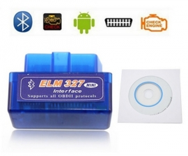 ELM327 ELM 327 OBD2 uitlezen scanner auto BLUETOOTH + CD