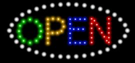 OPEN lamp LED verlichting reclame bord lichtbak #B4