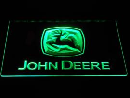 John Deere neon bord lamp LED 3D cafe verlichting reclame lichtbak