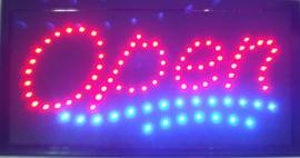 OPEN LED bord lamp verlichting lichtbak reclamebord #C3