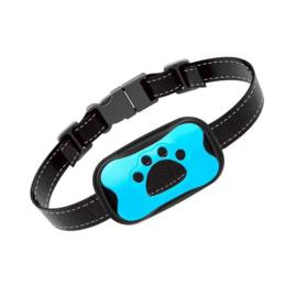 Vibratie anti blafband diervriendelijk trilling hond honden *blauw*