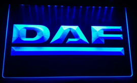 DAF neon bord lamp LED 3D cafe verlichting reclame lichtbak