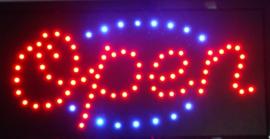 OPEN LED bord lamp verlichting lichtbak reclamebord #B10