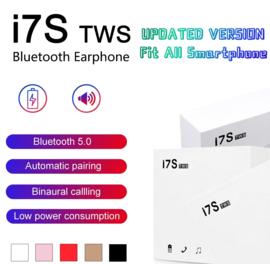 Bluetooth in-ear oortjes in ear airpods alternatief draadloos DUBBEL *5 kleuren* + laadbox